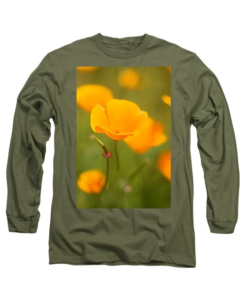 Long Sleeve T-Shirt featuring the photograph Poppy II by Ronda Kimbrow