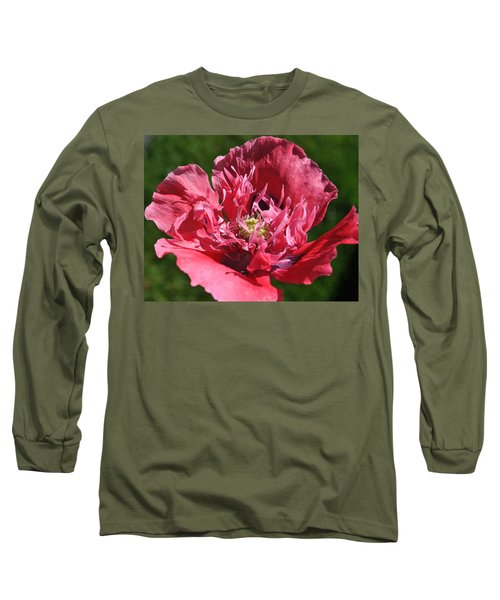 Poppy Pink Long Sleeve T-Shirt