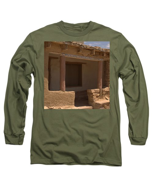Porch Of Pueblo Home Long Sleeve T-Shirt
