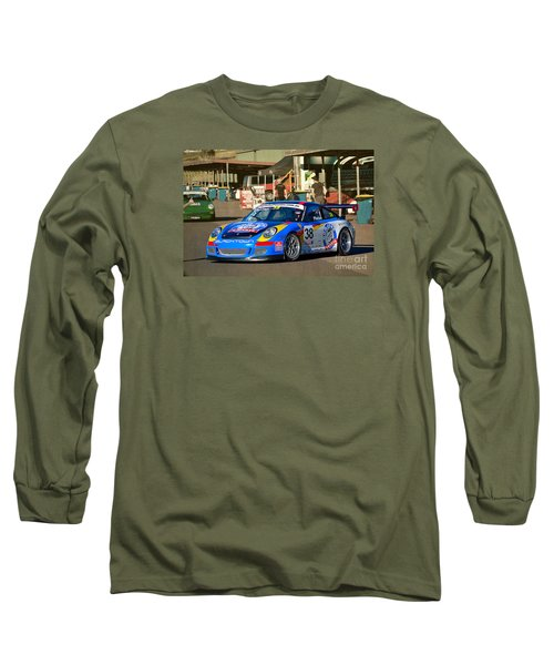 Porsche In The Pits Long Sleeve T-Shirt