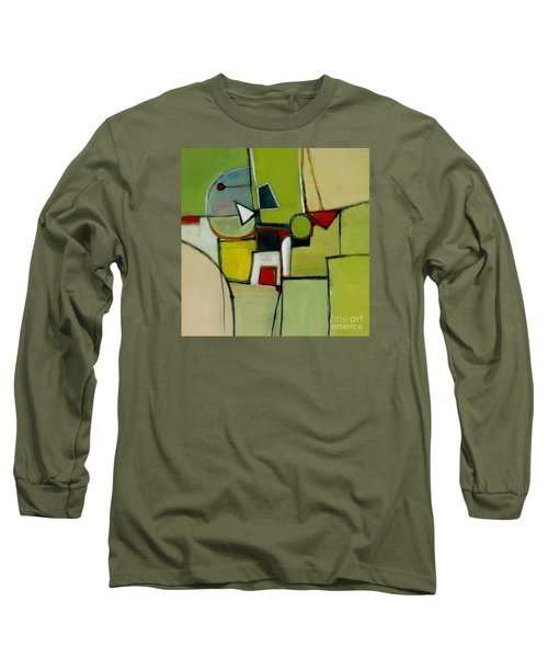 Long Sleeve T-Shirt featuring the painting Portal No.1 by Michelle Abrams