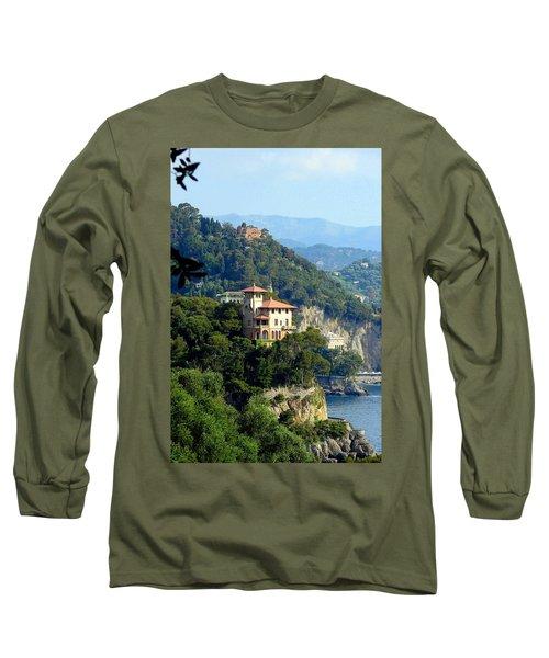 Portofino Coastline Long Sleeve T-Shirt
