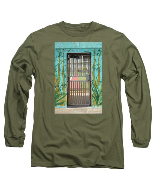 Porton Cerrado Long Sleeve T-Shirt by The Art of Alice Terrill