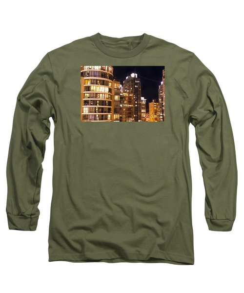 Long Sleeve T-Shirt featuring the photograph Posh Neighbors Dccxl by Amyn Nasser