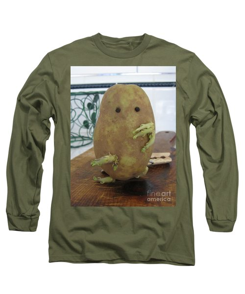 Potato Man Long Sleeve T-Shirt by Samantha Geernaert