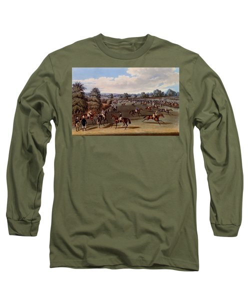 Preparing To Start, Print Made Long Sleeve T-Shirt