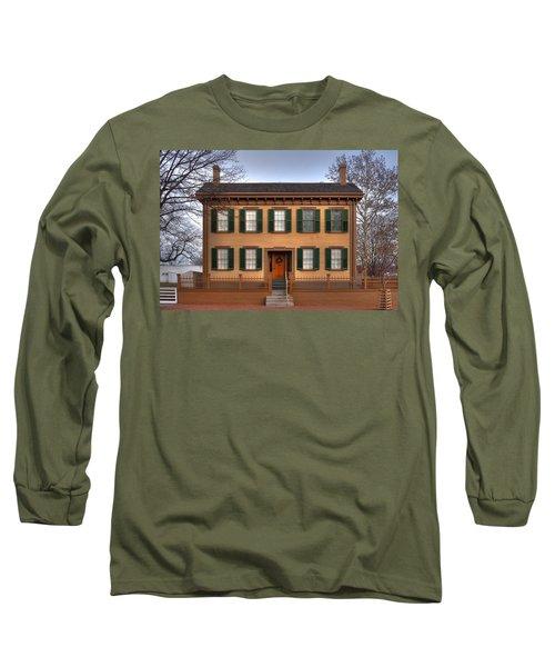 President Lincoln Home Springfield Illinois Long Sleeve T-Shirt
