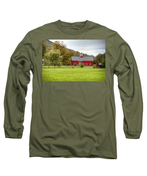 Prettiest Barn In Vermont Long Sleeve T-Shirt