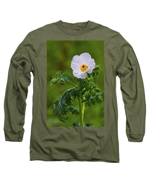 Prickly Poppy Long Sleeve T-Shirt