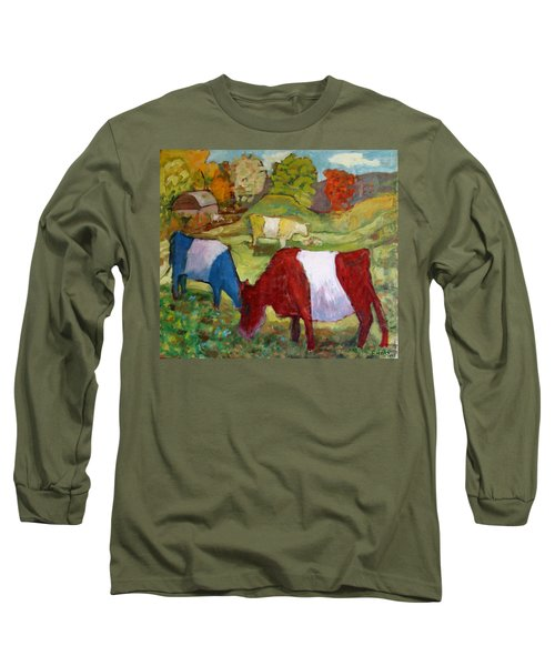 Primary Cows Long Sleeve T-Shirt
