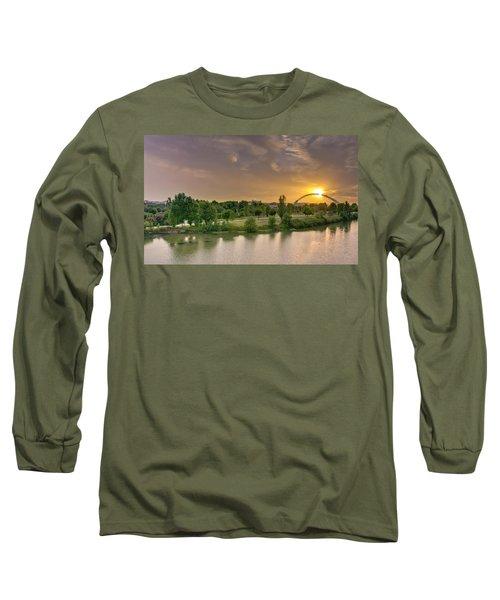 Puente De Lusitania Long Sleeve T-Shirt