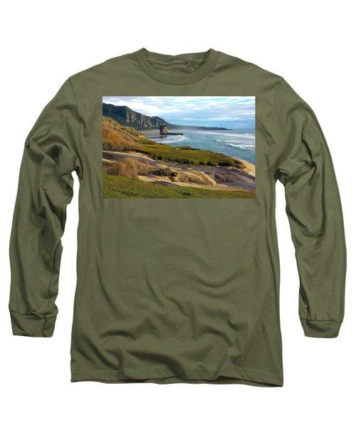 Punakaiki Truman Track Long Sleeve T-Shirt by Stuart Litoff