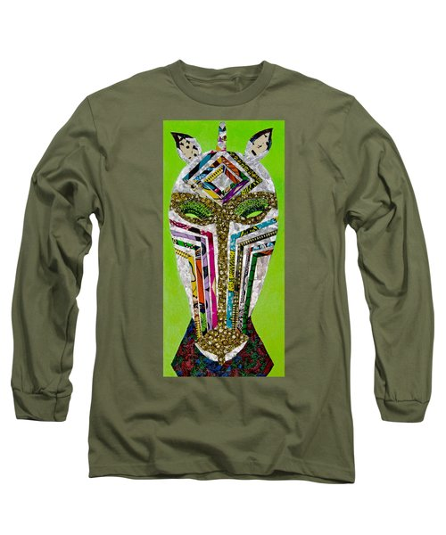 Punda Milia Long Sleeve T-Shirt by Apanaki Temitayo M