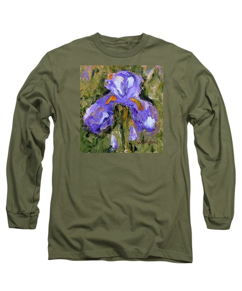Purple Iris2 Long Sleeve T-Shirt