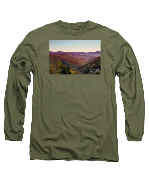 Purple Mountains Majesty Long Sleeve T-Shirt