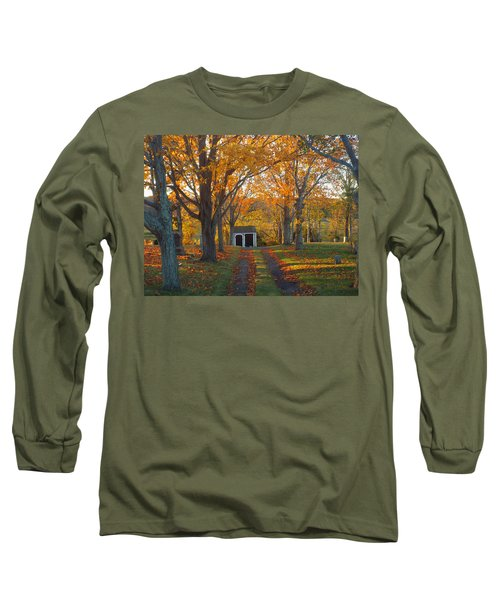 Long Sleeve T-Shirt featuring the photograph Quivet Morning by Dianne Cowen