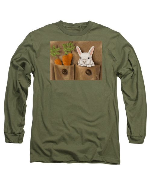Rabbit Hole Long Sleeve T-Shirt by Veronica Minozzi