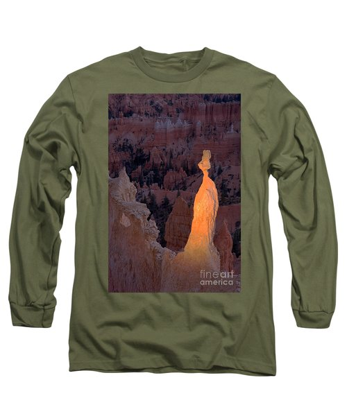 Rabbit Sunset Point Bryce Canyon National Park Long Sleeve T-Shirt