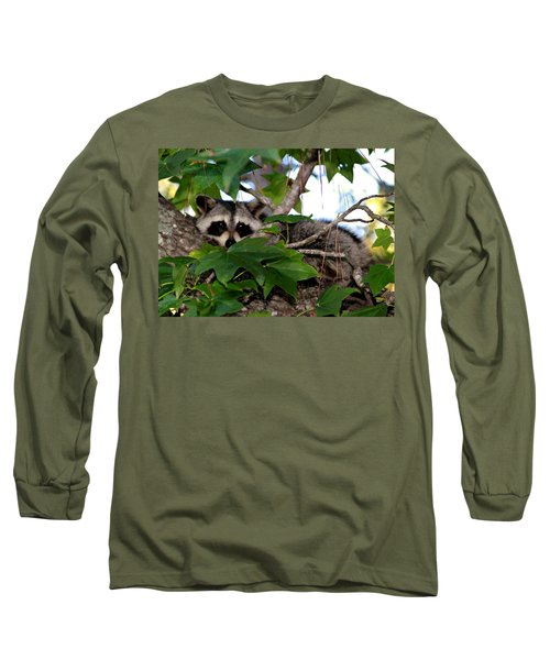 Raccoon Eyes Long Sleeve T-Shirt