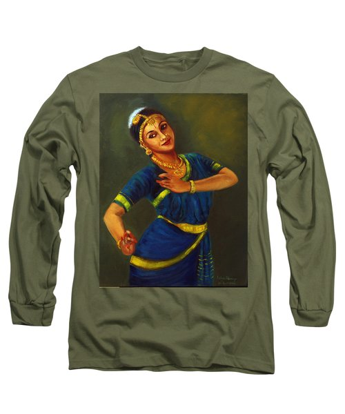 Radha Playing Krishna Long Sleeve T-Shirt