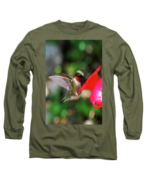 Radiant Ruby Long Sleeve T-Shirt