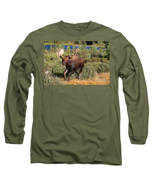 Charging Bull Long Sleeve T-Shirt