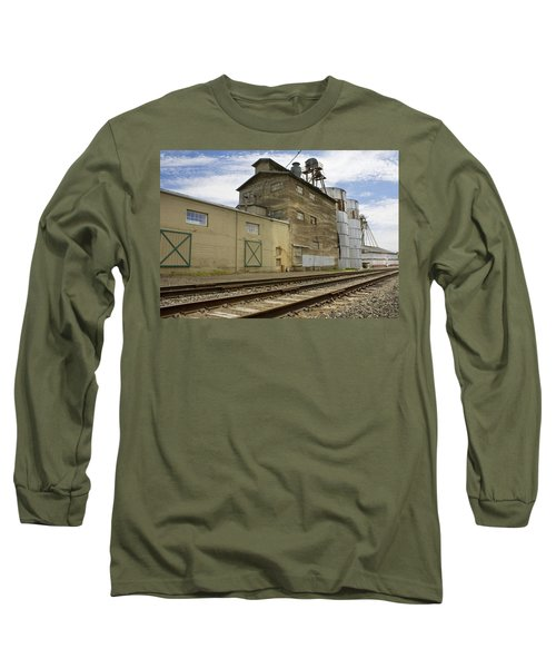 Railway Mill Long Sleeve T-Shirt by Sonya Lang