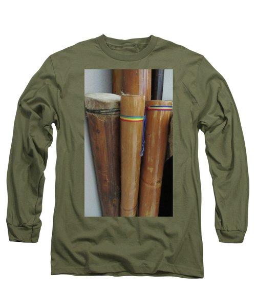 Rain Sticks Long Sleeve T-Shirt