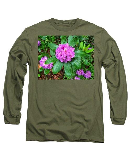 Rainy Rhodo Long Sleeve T-Shirt