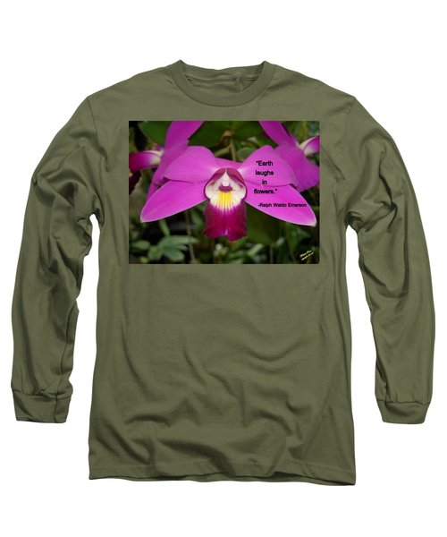 Ralph Waldo Emerson Long Sleeve T-Shirt