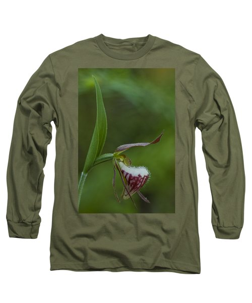 Ram's Head Lady-slipper Long Sleeve T-Shirt