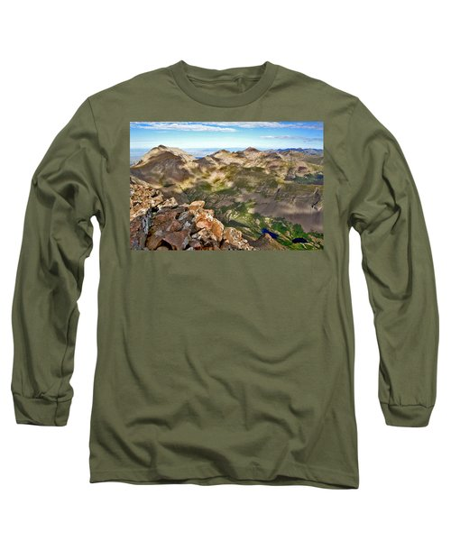 Reason To Climb Long Sleeve T-Shirt by Jeremy Rhoades