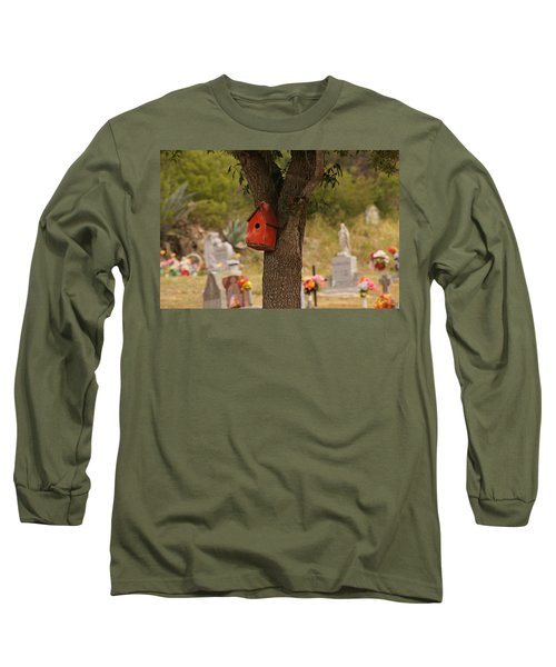 Red Abode Long Sleeve T-Shirt