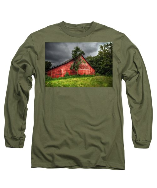 Red Barn Long Sleeve T-Shirt