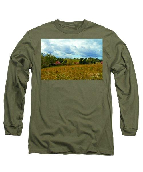 Red Barn Six Long Sleeve T-Shirt