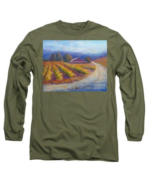 Red Barn Vineyard Long Sleeve T-Shirt