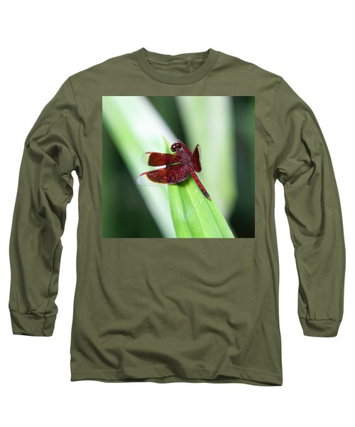 Long Sleeve T-Shirt featuring the photograph Red Dragon by Shoal Hollingsworth