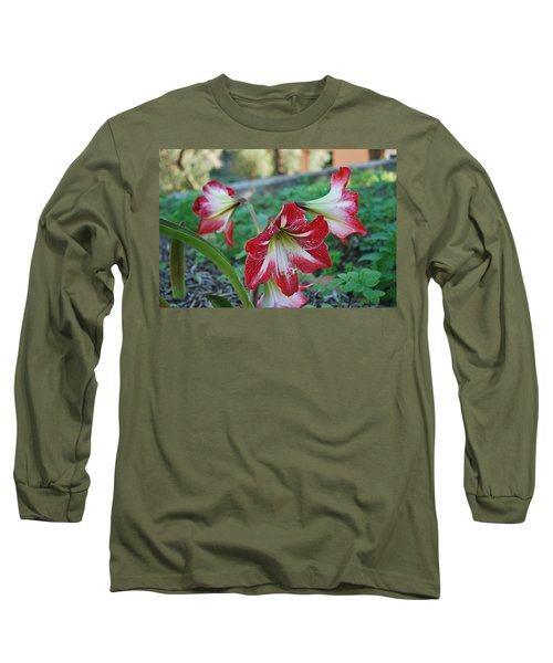 Red Flower 1 Long Sleeve T-Shirt