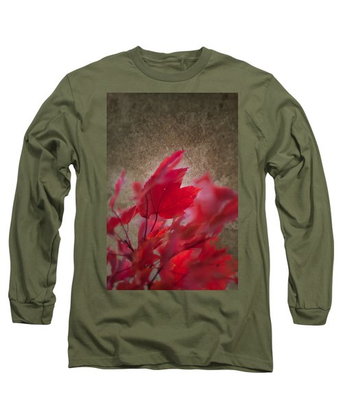 Red Maple Dreams Long Sleeve T-Shirt