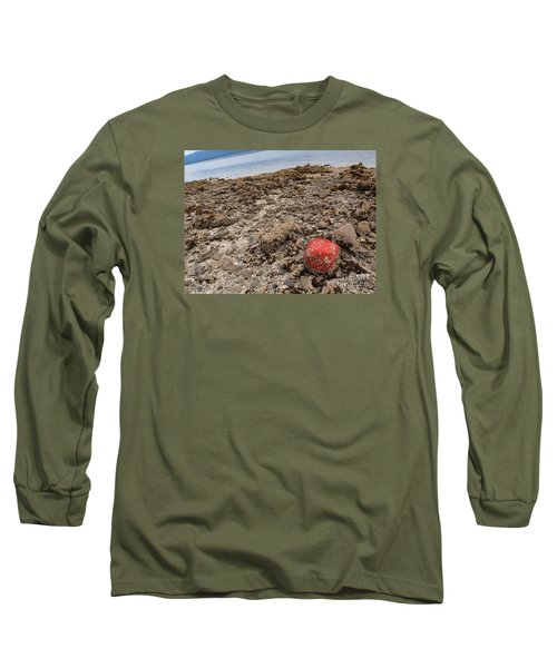 Red Out Of Place Long Sleeve T-Shirt