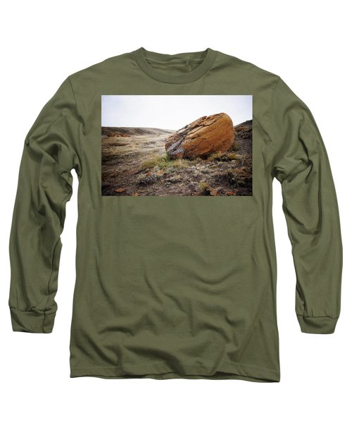 Red Rock Coulee IIi Long Sleeve T-Shirt by Leanna Lomanski
