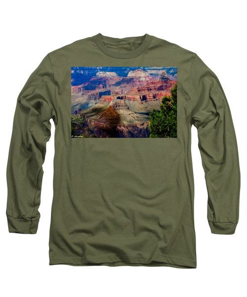 Red Rock Country Grand Canyon National Park Long Sleeve T-Shirt