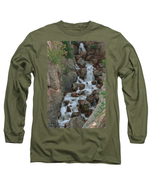Red Rock Falls Long Sleeve T-Shirt