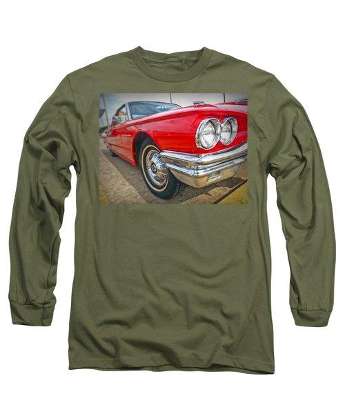 Red Thunderbird Long Sleeve T-Shirt