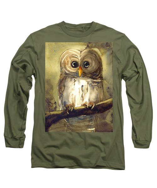 Redbird Cottage Owl Long Sleeve T-Shirt