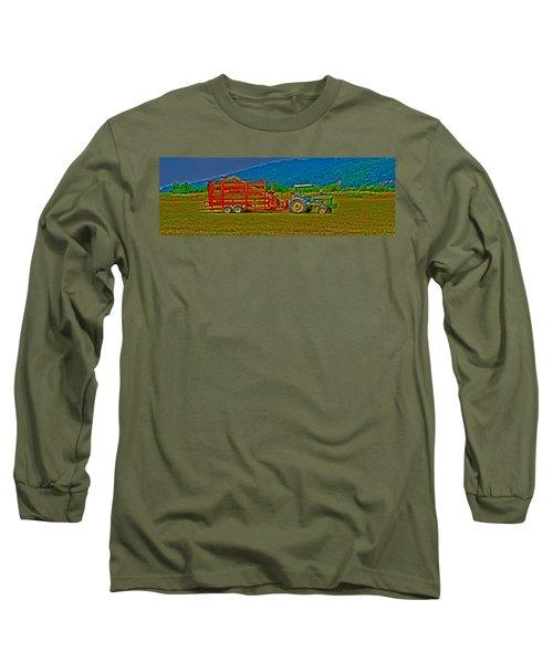 Redwood Ca Long Sleeve T-Shirt by Richard J Cassato