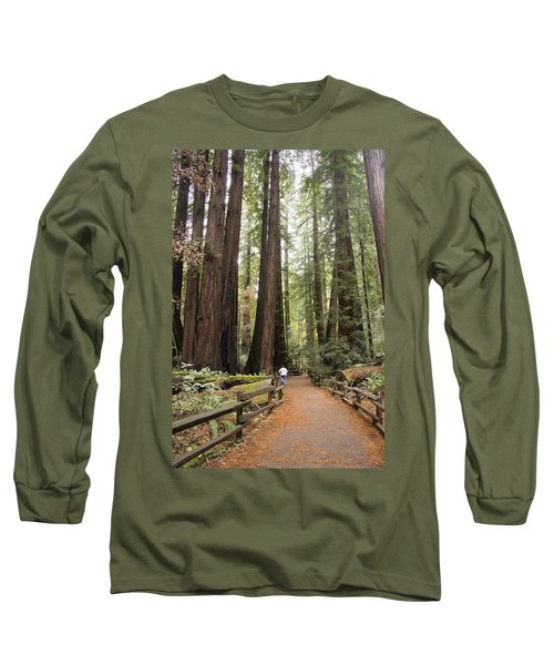 Redwood Trees Long Sleeve T-Shirt