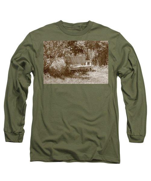 Reflecting Bench Long Sleeve T-Shirt