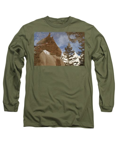 Upon Reflection Long Sleeve T-Shirt by Michelle Twohig