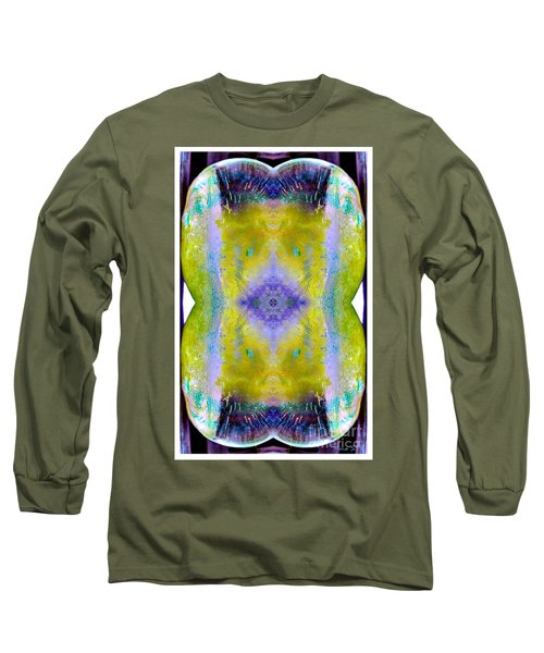 Long Sleeve T-Shirt featuring the photograph Reflections In Ice by Nina Silver